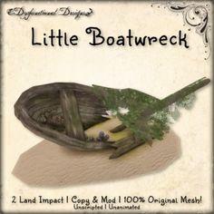 Second Life Marketplace - [DDD] Little Boatwreck