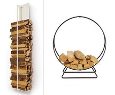 Our 5 Favorite Picks For Modern Firewood Storage