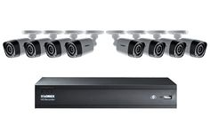 HD 720P Camera System with 8 Cameras and 1TB Hard Drive | Lorex by FLIR