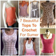 7 Beautiful Tops To Crochet For Summer