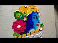 Rangoli Designs Peacock, Simple Rangoli Border Designs, Easy Rangoli Designs Diwali, Rangoli Simple, Rangoli Designs Latest, Free Hand Rangoli Design, Small Rangoli Design, Rangoli Patterns, Colorful Rangoli Designs