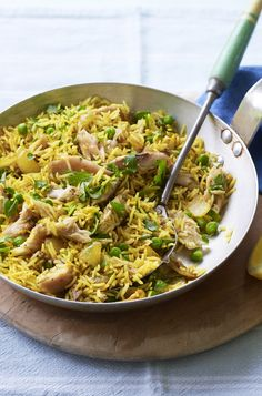 Smoked mackerel makes a great kedgeree-style dish that's good on a budget. From Eat Well for Less