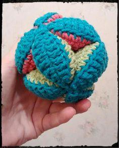 Pet's toy - brinquedo para cão em crochê