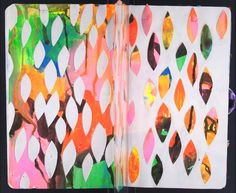 patternprints journal: PATTERNS AND TEXTURES IN WONDERFUL SKETCHBOOK AND ARTISTS BOOK BY THE SKETCHBOOK PROJECT
