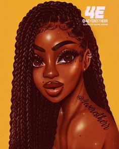 Drawings of black girls, black love art, black girl art, art girl, Black Love Art, Black Girl Art, Black Girl Magic, Art Girl, Drawings Of Black Girls, Arte Black, Natural Hair Art, Black Girl Cartoon, Black Art Pictures