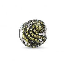 Thomas Sabo Karma Beads Silver Cubic Zirconia Octopus Charm K0153-643-34 #johngreedjewellery