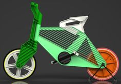 Eco friendly bikes not having a metal frame - Promoting Eco Friendly Lifestyle to Save Enviornment - Ecofriend