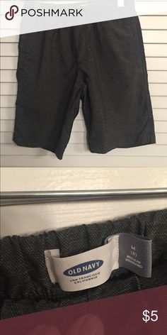 Old Navy Gray Shirts EUC- elastic waist with pockets on the side Old Navy Bottoms Shorts