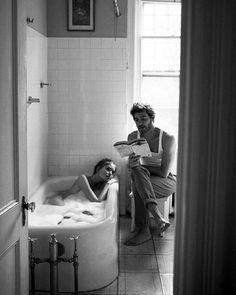 I adore this fine black and white photography couples. Carl Sagan, Modern Hepburn, True Love, My Love, Jolie Photo, Hopeless Romantic, White Photography, Photography Jobs, Emotional Photography