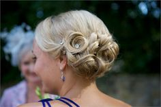 Bridesmaids hair-do