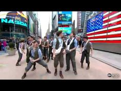 Carrying the Banner - Newsies - Good Morning America One of the best videos by these boys