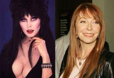 Cassandra Peterson: A eterna 'Elvira: A Rainha das Trevas' está hoje com 53 anos.