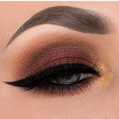 Luv these colors! @makeupbytaren | #makeup
