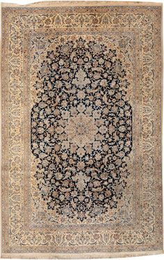 Nain carpet  Central Persia  third quarter of the 20th century  size approximately 7ft. 2in. x 11ft.