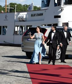 pre-wedding dinner for Prince Carl Philip and Sofia Hellqvist on June 12, 2015 in Stockholm, Sweden.