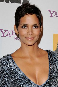 Halle Berry Short Hairstyles halle berry pixie Halle Berry Chic Short Pixie