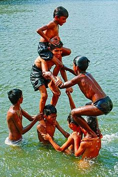 Stock Photo - Indian boys playing in teh water inside Banganda Tank in Mumbai Lion Photography, Village Photography, Kids Photography Boys, Village Kids, Cute Couple Selfies, Movie Love Quotes, Childhood Memories 90s, Beauty Of Boys, Foto Gif