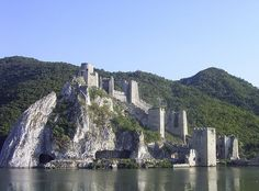 Golubac Fortress (Голубачки град, Golubački grad) in #Golubac (Голубац), Serbia (Srbija).
