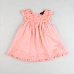 Infant Eyelet Swiss Dot Dress with Panty