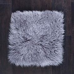 The Wool Company Pewter Grey, Seat Pads, Cushion Pads, Shag Rug, Cushions, Wool, Shaggy Rug, Throw Pillows, Toss Pillows
