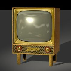 Zenith~ we had one of these that my dad made into a book shelf for my sister and me.