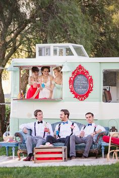 bridal party fun! // photo by Kelsea Holder