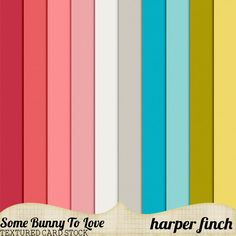 Some Bunny to Love Card Stock by Harper Finch by harperfinch.deviantart.com on @deviantART