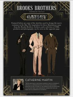 how come more people arent obsessed with the gatsby original-inspired costumes