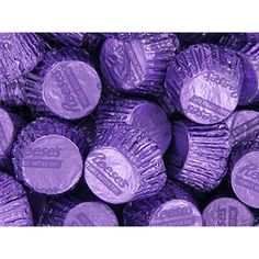 Reese's Peanut Butter Cups Miniatures - Purple: 4LB Bag Purple Love, All Things Purple, Purple Rain, Purple Stuff, Deep Purple, Lavender Aesthetic, Purple Aesthetic, Purple Candy Buffet, Purple Birthday
