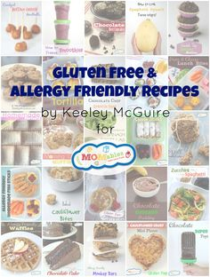 Tons of Gluten Free & Allergy Friendly Recipes & Lunch Ideas via Keeley McGuire for MOMables.com