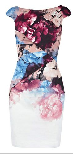 Elegant printed dress   DressLily.com