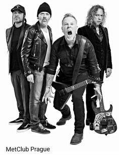 Robert Trujillo, Lars Ulrich, James Hetfield, Kirk Hammett Metallica 2017!!!