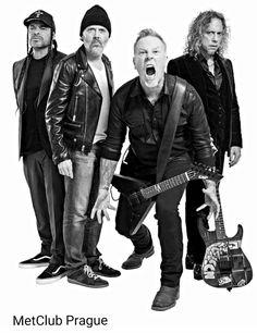 Robert Trujillo, Lars Ulrich, James Hetfield, Kirk Hammett Metallica 2017!!!