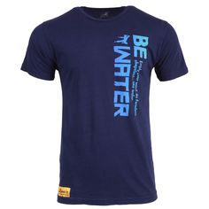 Be Water Vertical Gradient T-shirt | Shop The Bruce Lee Family Store - Bruce Lee Official Store
