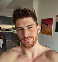 Danish Men, Hairy Hunks, Male Eyes, Facial Hair, Gorgeous Men, Redheads, Sexy Men, Eye Candy, Handsome