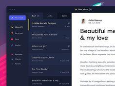 Bolt inbox by @dsgnr_ . . . . . Design shop @instadesket Office setup inspiration: @minimaloffices Typography inspiration: @typedrawn ##### #ui #dribbble #ux #design #webdesign #graphic #uidesign #userinterface #minimal #graphicdesignui #inspiration #interface #appdesign #digital #graphicdesignuiweb #app #graphicdesign #creative #webdesigner #userexperience #uxdesign #designinspiration #dribbblers #uxigers #dailyinspiration #uitrends #uxigers #graphicdesignui #uitrends