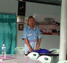 Dr. Simon at the Mae La Refugee Camp