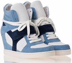 Ash Bowie Wedge Sneakers, as worn by Yolanda Foster on RHOBH