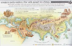 Suitcase and World: Ancient Trade Routes. China Silk Road.