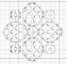 Imaginesque: Cross Stitch Flower Pattern