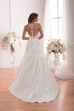 Style * F171015 * » Wedding Dresses » Jasmine 2015 Spring Collection » by Jasmine Bridal » Available Colours : Ivory, White (back)