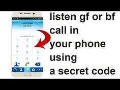 A Secret Mobile Code That Can Record Your GF Phone Call In You Mobile - YouTube