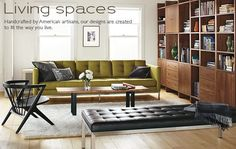 Room & Board: American made, quality furniture