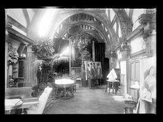 - the studio of queen Elisabeth of Romania (née princess of Wied) aka: Carmen Sylva. Peles Castle, Royal King, King Queen, Palaces, Castles, Countries, Forget, Studio, Princess