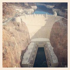 Hoover Dam i Nevada/Arizona, NV