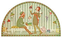 Buying Hats by Henriette Willebeek Le Mair.