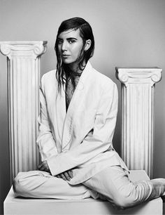 Lykke Li Goes Sleek And Minimal For Wild Magazine via @WhoWhatWear