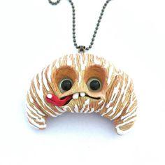 I'm so good 😛🥐 #croissant #sweet #kawaii #fantasyart #fantasycreature #instaart #necklace #jewellery #fimojewelry #cute #wip #polymerclay #ooak #ooaktoy #ooakdoll #creature #originalart #art #sculpey #sculpture #etsy #arttoy #artdoll #clay #handmade #fimo #mo_creatures #mosweetfactory #niezchinzpasji #modelina