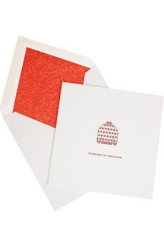Smythson Warmest Of Holidays pack of ten Christmas cards | NET-A-PORTER