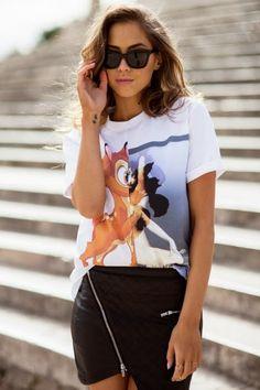 Givenchy Bambi Print Shirt